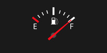 Full Fuel Gauge Icon