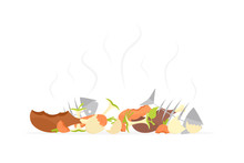 Recycling Garbage Organic Food...