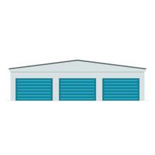 Self Storage Unit Icon