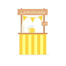 Lemonade Vector Stand