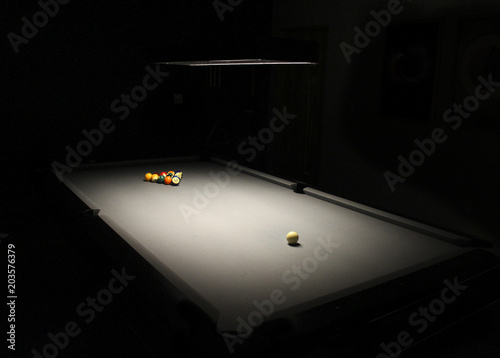 Obraz na plátně Pool / Billiard Table