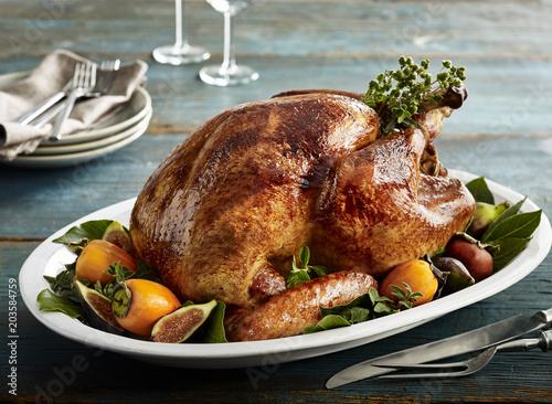 Roasted Turkey - 203584759
