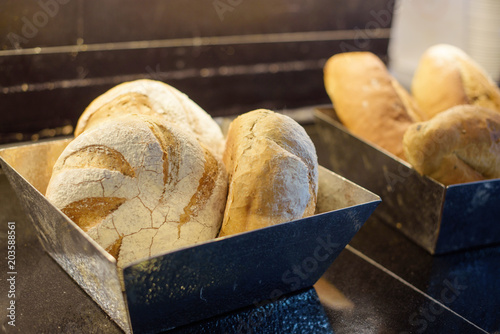 Foto op Canvas Brood freshly baked bread