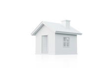 3D Rendering Of Simple House I...