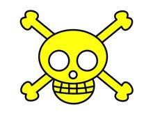 海賊マーク(黄)