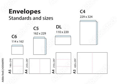 international standard envelopes for paper or documents c6. Black Bedroom Furniture Sets. Home Design Ideas