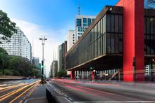 Paulista Avenue In Sao Paulo -...