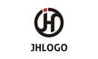 Initial J and H logo design inspiration