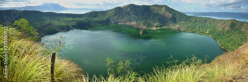 Panorama View - Taal Volcano Luzon Island - Philippines