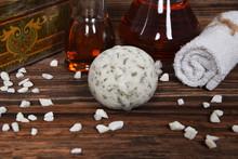 Herbal Bath Ball And Argan Oil...