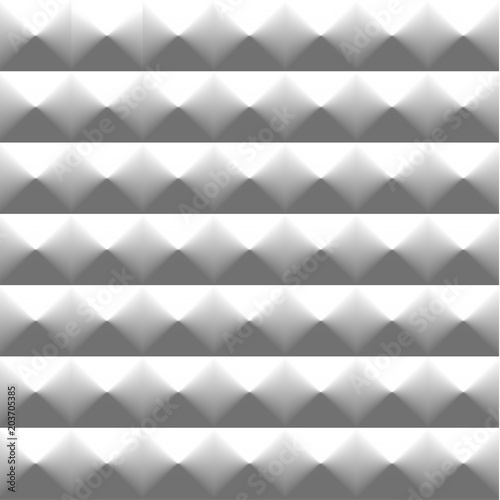 Fotografía  Seamless abstract 3d texture - vector background