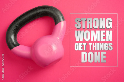 Fotografía  Strong women get things done
