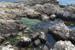 Acqua cristallina tra le rocce