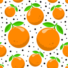 Pattern With Oranges