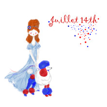 Mademoiselle And Her Patriotic...