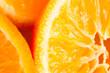 orange fruit macro shot