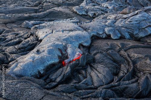 Tuinposter Vulkaan Lava