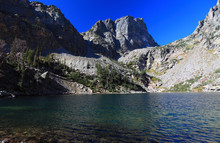 Emerald Lake In Rocky Mountains National Park, Colorado, USA