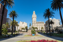 Palacio Salvo In The Center Of...