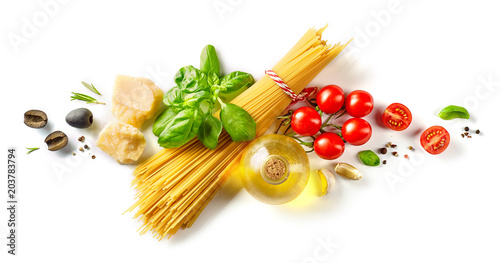 Foto  healthy food ingredients