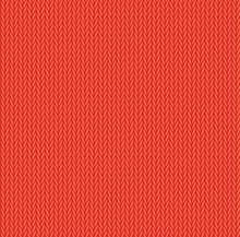 Red Wool Knitwear Texture Seamless Pattern