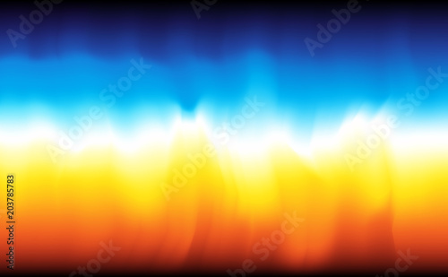 Modern abstract background fire and water Poster Mural XXL