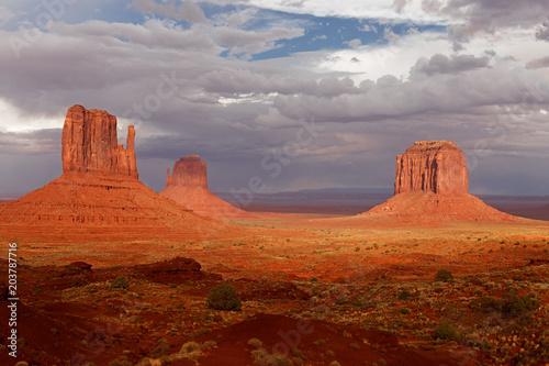 Fotografia  View of Monument Valley Desert