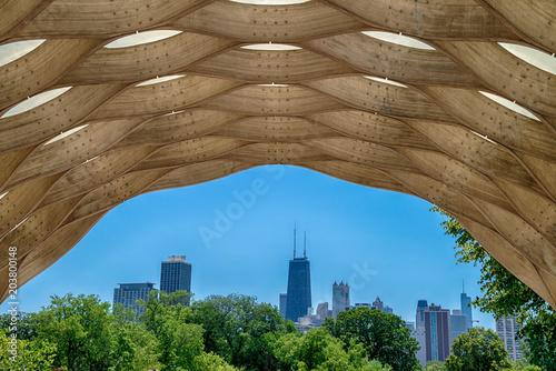 Fotografia  View of Chicago, USA