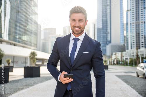 Valokuva  Businessman portrait