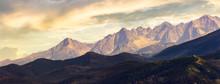 Part Of High Tatra Mountain Ri...