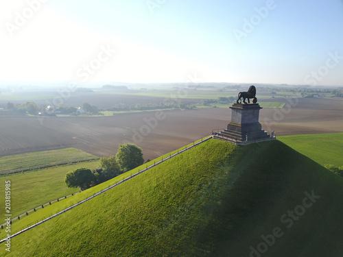 Photo Waterloo tourisme 1815 memorial bataille lion