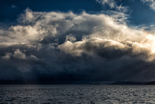 Approaching Storm In The Strai...