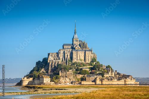 Photo  Mont Saint Michel abbey