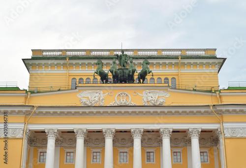 Deurstickers Theater Alexandrinsky Theatre, Saint Petersburg.