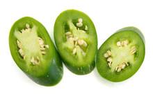 A Green Jalapeno Slice