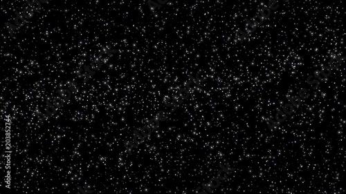 Obraz Stars in night sky texture  - fototapety do salonu