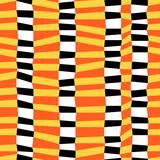 Kolorowy chaotyczny pasiasty geometryczny bezszwowy wzór, wektor - 203861986