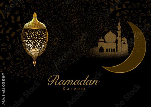 Ramadan greeting card Canvas-taulu