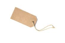 Blank Brown Cardboard Price Ta...