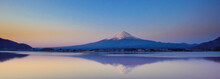 Panorama Reflection Of Fuji Mo...
