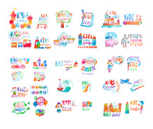 Kids Club Logo Templates Or Pr...