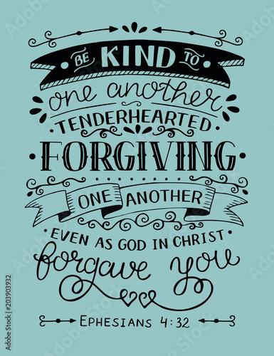 pismo-reczne-z-wersetem-biblijnym-badzcie-dla-siebie-zyczliwi-serdeczni-pr