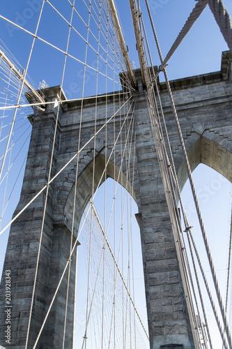 Foto op Canvas Brooklyn Bridge New York, the Brooklyn Bridge