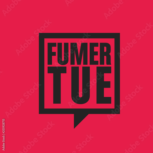 Photo fumer tue
