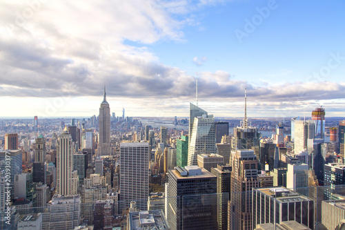 Tuinposter New York City New York - Skyline from the Top of the Rock