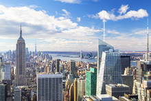 New York - Skyline From The To...