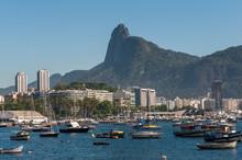 Beautiful View From Urca  Neighborhood, South Zone Of Rio De Janeiro, Brazil.