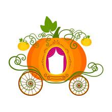 Vector Illustration Of Pumpkin...