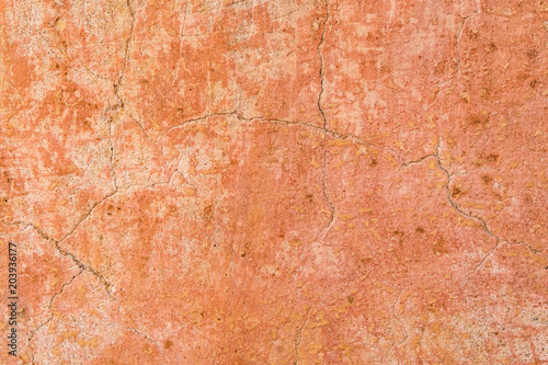 Brown adobe clay wall texture background Wallpaper Mural