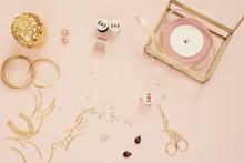 Jewelry Designer Workplace. Ha...